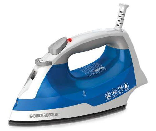 Black & Decker Blue Easy Steam Iron