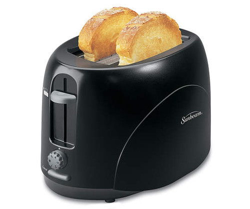 Sunbeam Black 2-Slice Toaster (8250)