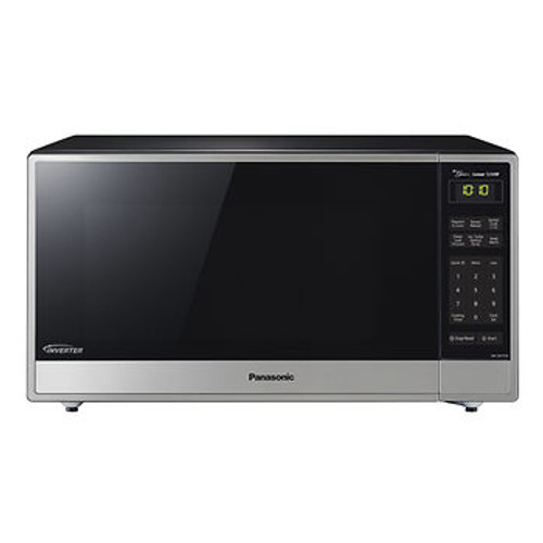 Panasonic 1.6-Cu.-Ft. 1,250W Microwave with Genius Inverter Technology - Stainless Steel/Black ( NN-SN755S )