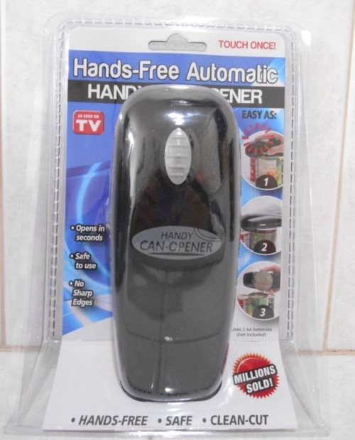 "One Touch Hands-Free Automatic Powered Can Opener ""As Seen On TV"" (4802)"