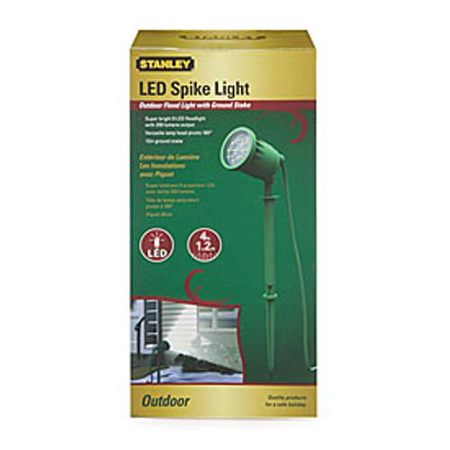 Stanley Plug in LED Spike Light W/color Lens Outdoor Flood Floodlight Landscape (686140568176)