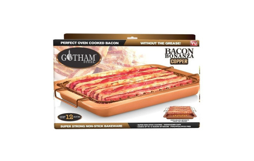 Gotham Steel Bacon Bonanza Rack and Pan As Seen on TV (7636)