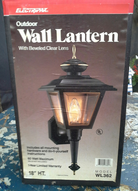 Electripak Outdoor Wall Mount Lantern (WL362 )