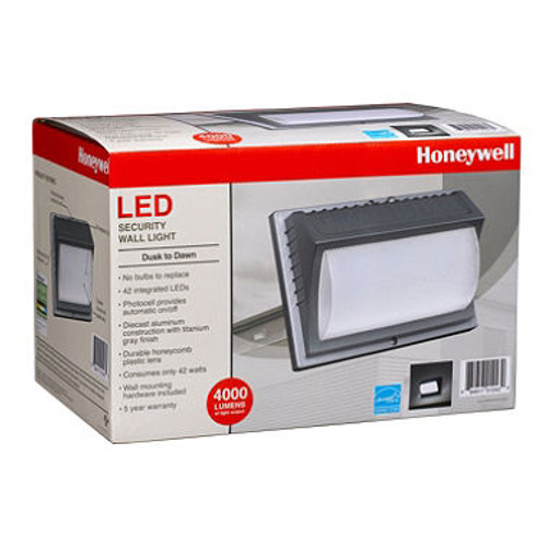 Honeywell LED Rectangular Security Light (Bronze) (ME014051-82R)