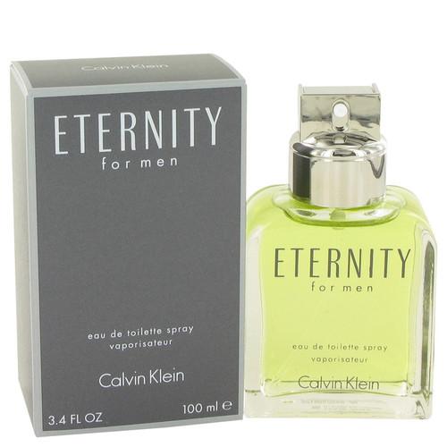 Eternity Cologne By Calvin Klein for Men 3.4 oz Eau De Toilette (413073)