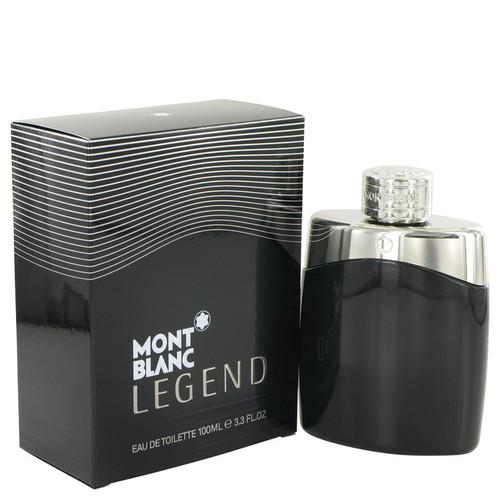 Montblanc Legend Cologne By Mont Blanc for Men 3.4 oz Eau De Toilette Spray (497589)