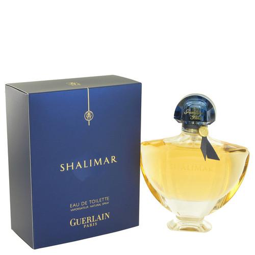 Shalimar Perfume By Guerlain for Women 3 oz Eau De Toilette Spray (483115 )