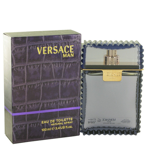 Versace Man Cologne 3.3 oz Eau De Toilette Spray (403508)