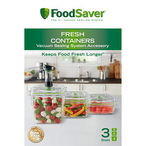 FoodSaver 3-Pc. Fresh Containers Set ( FA3SC358-PAL)