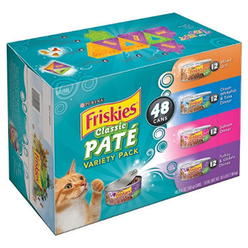 Purina Friskies Variety Pack - 48 pk. Case Lot (10038 )