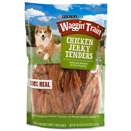 Purina Waggin Train Chicken Jerky Dog Treats, 36 oz. ( 11063031)
