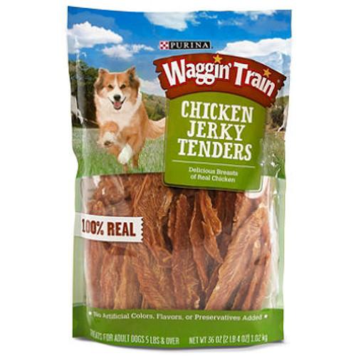Purina Waggin Train Chicken Jerky Dog Treats, 36 oz. ( 11063031)