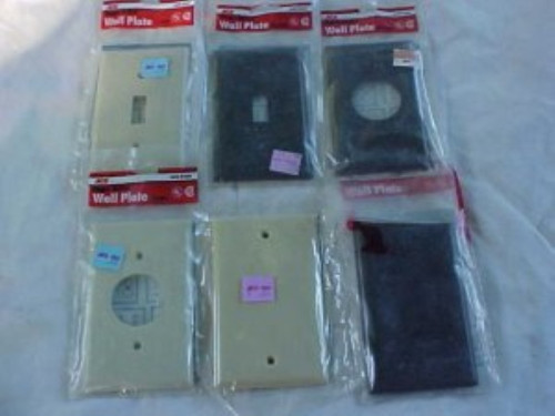 Ace Plastic Outlet/Switch Covers Buy the Lot (ace outlet covers)