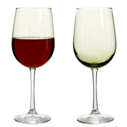 Brand-Name Olive Stem Wine Glasses, 18.5 oz. Case Lot Sale (199946)