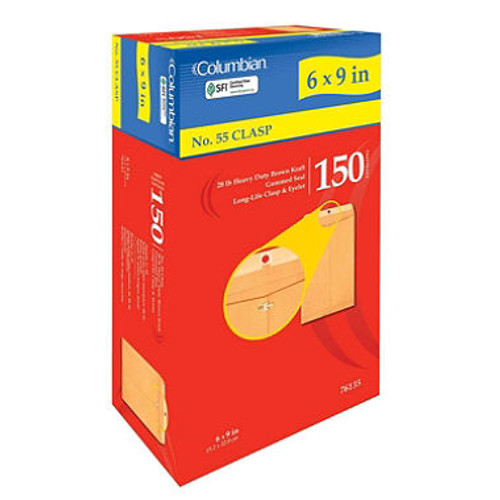 No. 55 Clasp Envelope - 150 Pack