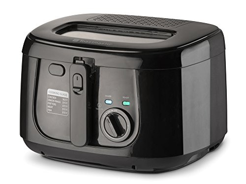 Toastmaster TM-165DF 1500W Deep Fryer, 2.5 L, Stainless Steel (TM-165DF)