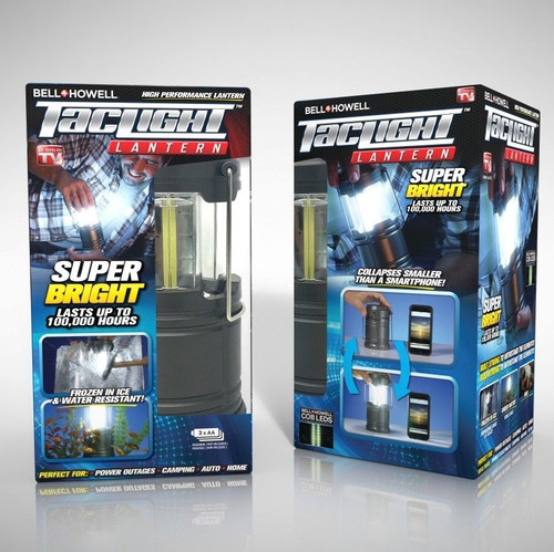 Bell + Howell Ultra Bright Portable Outdoor LED Taclight Lantern ( 90710 )