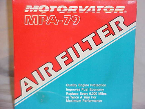 Motorvator Vintage Auto Air Cleaner (MPA 79)