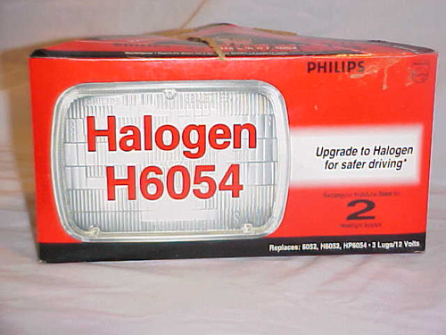 Philips Halogen Headlight H6054