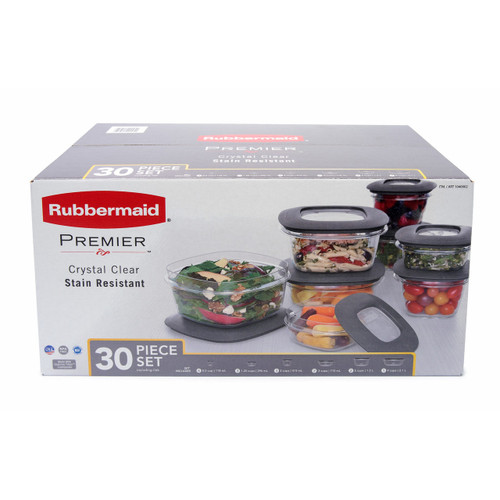 Rubbermaid Premier 30-Pc. Food Storage Set ( 1934581)