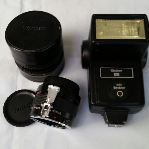 Vivitar Auto Thyristor 283 Flash for Nikon bcc 45 60 75 90.photo-flash equipment Buy the Lot