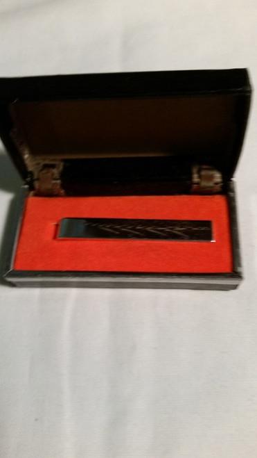 Vintage Chrome Tie Clasp