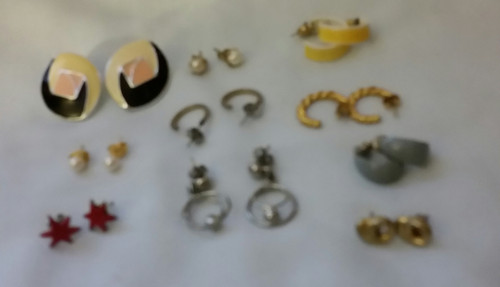 Vintage Jewelry Pierce Earrings Buy the lot 1