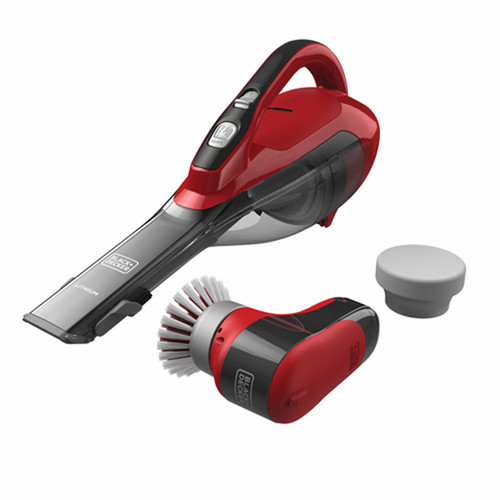 Black & Decker Cordless Hand Vacuum and Detailing Scrubber Kit ( HLVA315JKIT-6BJ)