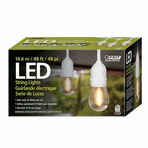Feit 48' LED Filament String Light Set (1246612 c)
