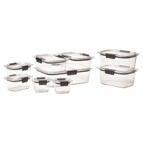 Rubbermaid Brilliance 18-piece Food Storage Set (1103099)