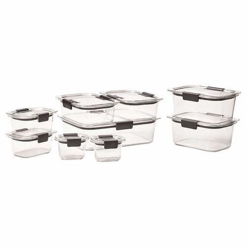 Rubbermaid Brilliance 18-piece Food Storage Set (1103099)