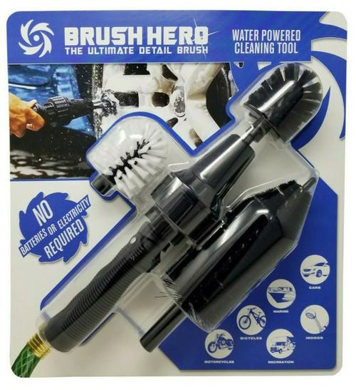 Brush Hero The Ultimate Detail Brush Water Powered Cleaning Tool (086479500036)