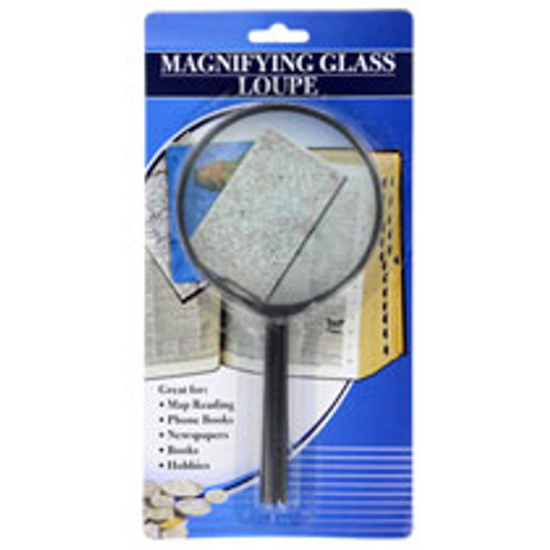 Black Plastic Magnifying Glasses (164333)