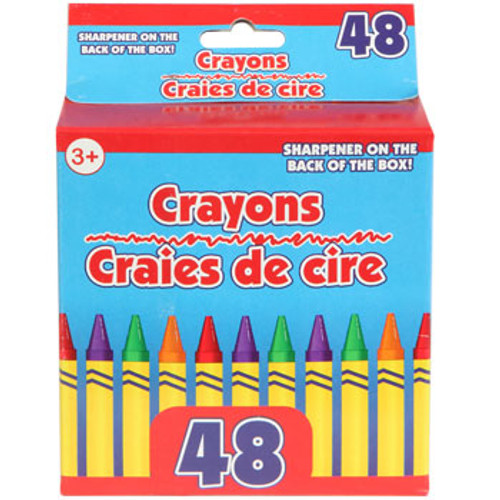 Boxed Crayons with Built-In Sharpener, 48-ct. (24140 )