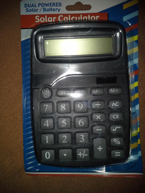 Dual Power Desktop style Calculator