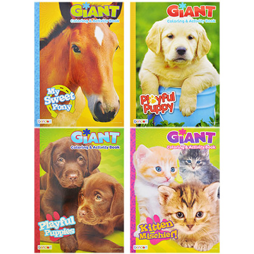 Giant Coloring and Activity Books, 160 Pages (974496 )