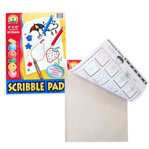"Scribble Pads, 9x12"" Buy the Dozen Deal ( 819351)"