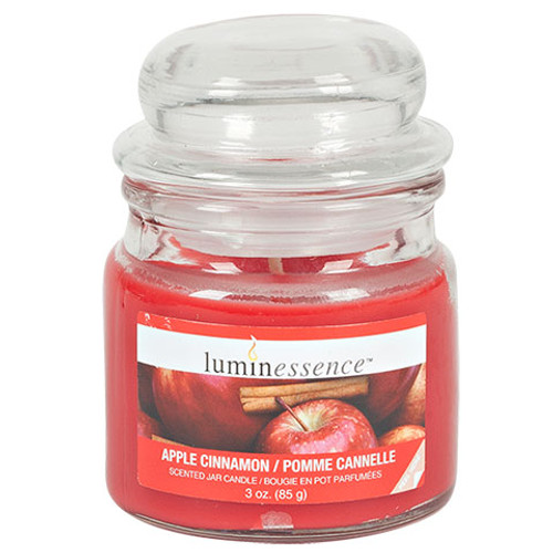 Luminessence Mini Glass Apothecary Jar Candles, 3 oz. (123485)
