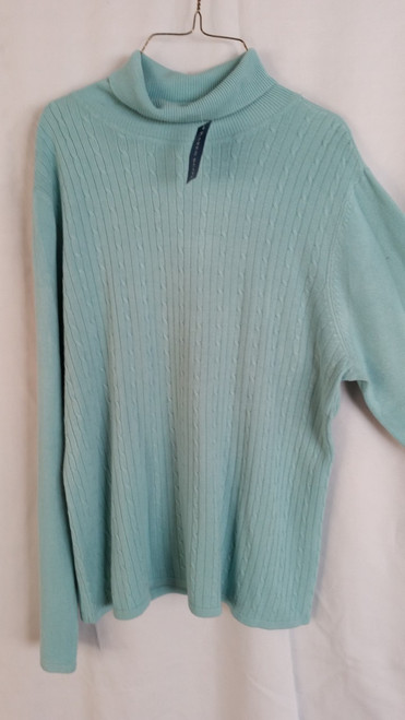 Karen Scott Ladies Turtle Neck Top