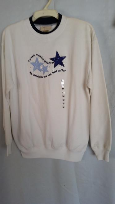 Ladies Sweater Twinkle Twinkle Little Star