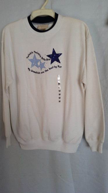 Ladies Sweater Twinkle Twinkle Little Star