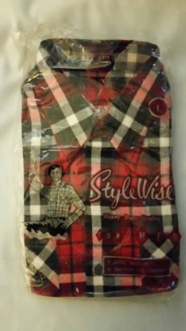 Style Wise Men Flannel Shirt (style wise)