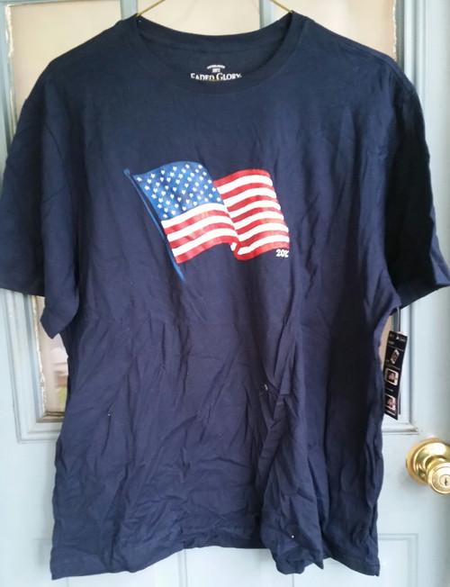 Faded Glory US Flag T Shirt (4648)