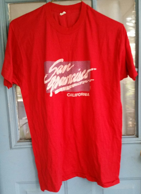 California San Francisco Adult T Shirt (8020)