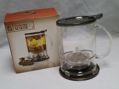 TEAVANA Perfectea Tea Maker in BLACK BPA free 16 oz (10004684000016)
