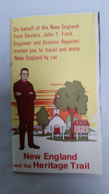 Vintage New England Journeys and the Heritage Trail Map