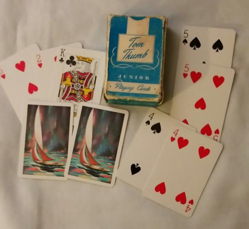 Vintage Tom Thumb Junior Playing Cards (Tom Thumb)