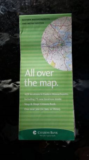 "Vintage Citizens Bank Eastern Massachusetts and Metro Boston ""All over the map"""