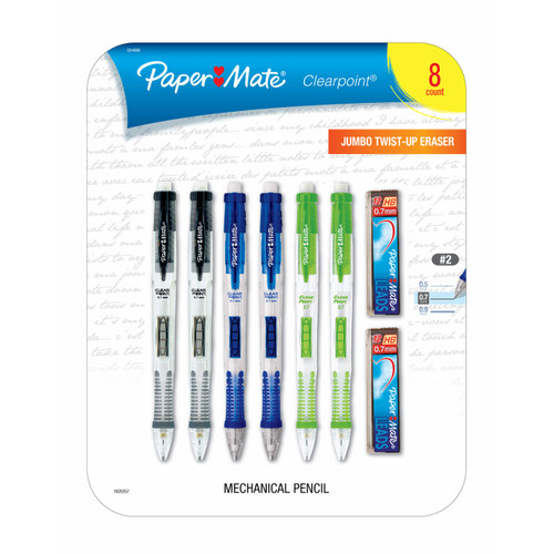 Papermate Clearpoint #2 Mechanical Pencils, 8 pk. (1814996)