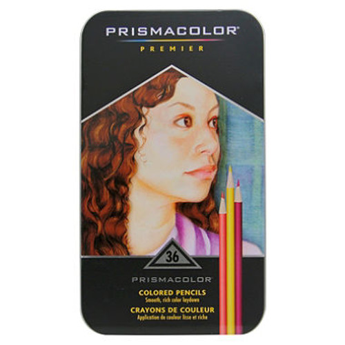 Prismacolor Premier Soft Core Colored Pencils, Assorted Colors, 36ct. ( 1953653)